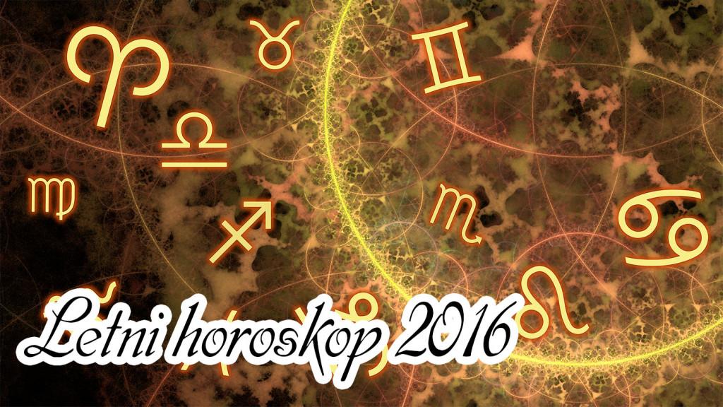Letni horoskop 2016